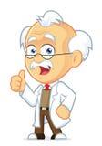 Il professor Giving Thumbs Up Immagini Stock Libere da Diritti