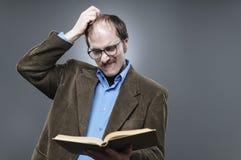 Il professor Lecturing Immagine Stock