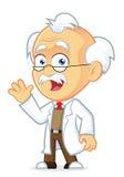 Il professor Waving Immagini Stock