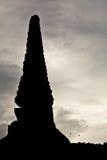Il profilo di un pagoda Immagini Stock Libere da Diritti