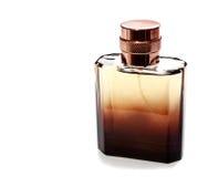 Il profumo degli uomini in bella bottiglia fotografie stock