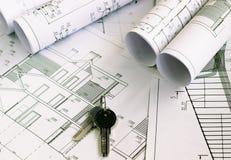 Il progetto architettonico immagine stock libera da diritti