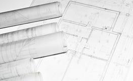 Il progetto dell'costruzioni e l'altra architettura progetta Fotografie Stock