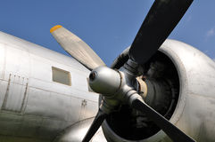 Il 14 propeller Stock Photography