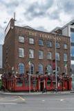 Il pub del traghettatore a Dublino, Irlanda Fotografia Stock