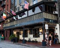 Il pub di Kevin Barry, savana, GA fotografie stock libere da diritti