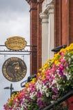 Il pub di Londra firma dentro Richmond fotografie stock libere da diritti