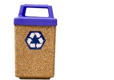 Il pubblico ricicla lo scomparto Fotografie Stock Libere da Diritti