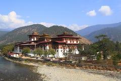 Il Punakha Dzong Fotografie Stock