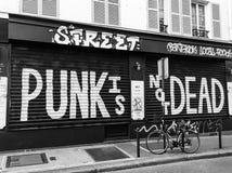 Il punk non è morto fotografie stock
