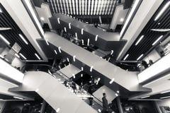 Il punto di vista della via della HK Fotografia Stock