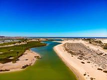 Il punto di vista di Nicklaus ha progettato Islas Del Mar Golf Course fotografia stock
