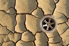 Il puzzle di siccità - risolto Fotografie Stock Libere da Diritti