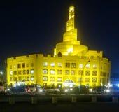 Il Qatar Doha fotografia stock libera da diritti