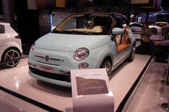 Il Qatar Motorshow 2011 - Fiat Castagna Milano Fotografie Stock