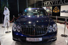 Il Qatar Motorshow 2011 - Maybach Immagini Stock