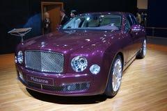 Il Qatar Motorshow 2011 - Mulsanne Immagini Stock