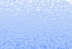 Il quadrato acquoso blu-chiaro di miscela spruzza l'illustrazione del fondo Immagine Stock Libera da Diritti