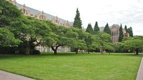 Il quadrato all'università di Washington fotografia stock libera da diritti
