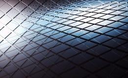Il quadrato astratto modella gli strati, l'illustrazione 3d illustrazione vettoriale