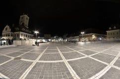 Il quadrato Brasov Transilvania del Consiglio fotografia stock libera da diritti