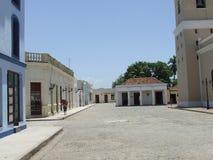Il quadrato dell'inno in Bayamo Fotografia Stock