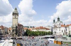 Il quadrato di Città Vecchia Fotografia Stock Libera da Diritti