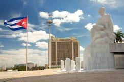Il quadrato di giro a Avana immagini stock