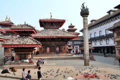 Quadrato di Kathmandu Durbar Immagine Stock