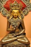 Statua di Buddha al museo di Patan Fotografie Stock Libere da Diritti