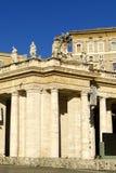 Il quadrato di St Peter, la basilica Fotografia Stock Libera da Diritti