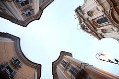 Il quadrato italiano è un posto di grande bellezza Fotografia Stock