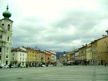 Il quadrato nel centro della città Immagine Stock Libera da Diritti