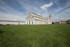 Il quadrato Pisa Toscana Italia Europa della cattedrale Fotografia Stock Libera da Diritti