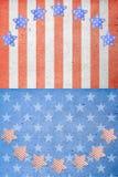 Il quarto della festa dell'indipendenza di luglio Fotografie Stock Libere da Diritti