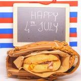 Il quarto delle celebrazioni di luglio Fotografia Stock Libera da Diritti