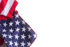 il quarto fondo della bandiera americana per le idee di progettazione moderna libera il fondo Fotografia Stock Libera da Diritti