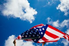 il quarto luglio - festa dell'indipendenza fotografie stock