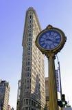 Il quinto orologio iconico del viale in New York Immagini Stock Libere da Diritti
