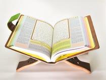 Il Quran santo immagine stock
