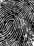 Il raccolto 4 dell'impronta digitale Immagine Stock Libera da Diritti
