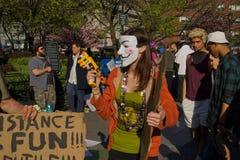 Il raduno 40 di 2015 cannabis Fotografia Stock Libera da Diritti