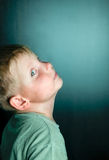 Il ragazzino cerca il portret Immagine Stock Libera da Diritti