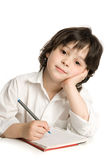 Il ragazzino che illustrazione Fotografia Stock