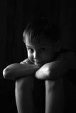Il ragazzo. fotografia stock