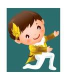 Il ragazzo royalty illustrazione gratis