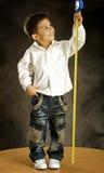 Il ragazzo allegro Fotografia Stock