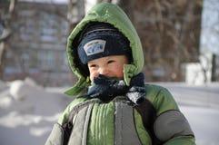 Il ragazzo si corruga su Fotografie Stock Libere da Diritti