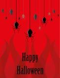 Il ragno per Halloween Fotografia Stock