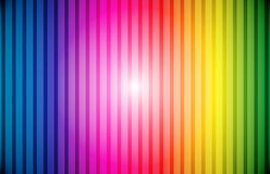 Il Rainbow allinea la priorità bassa Fotografie Stock Libere da Diritti